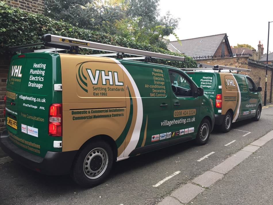 Van Wrapping Fleet Van Graphics Van Wraps London